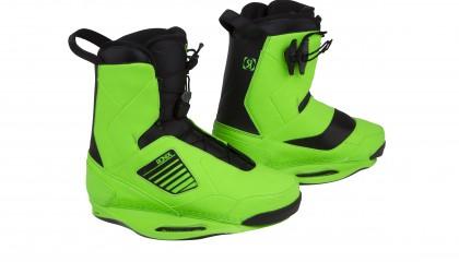 2014 Ronix One Boot – Phantom / Psycho Green