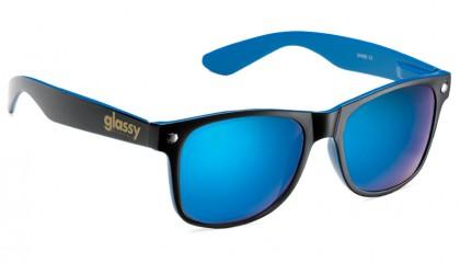 Leonard – Black/Blue-Blue Mirror